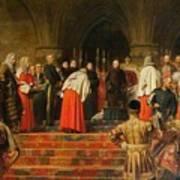 Queen Victoria Opening  Poster