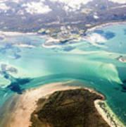 Queensland Island Bay Landscape Poster