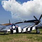 Quick Silver P-51 Color Poster