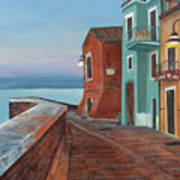 Quiet Sicilian Town Poster