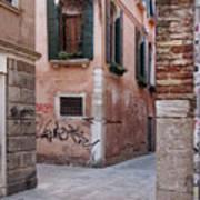 Quiet Corner In Venice Poster