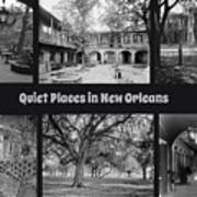 Quiet New Orleans Poster
