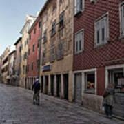 Quiet Street In Rovinj - Croatia Poster