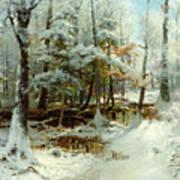 Quiet Winter Afternoon Poster