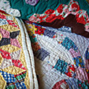 Quilted Comfort Poster