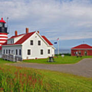 Quoddy Head Lighthouse Poster