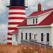 Quoddy Lighthouse Afternoon Poster