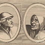 """""""dief-achtighe Tijs"""" And """"nies Spoel-de-nap"""" Poster"""