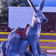 Rabbit Ride Route 66 Poster