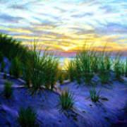 Race Point Dune Sunset Poster