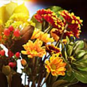 Rachels Flowers Poster