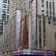 Radio City Music Hall New York City Poster