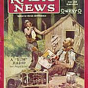 Radio News, 1926 Poster