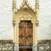 Radovljica Church Door Poster