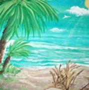 Raelee's Beach Poster