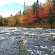 Raging Michigamme River Poster
