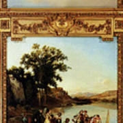 Rahoult Charles Diodore Allegory Of Spring Poster
