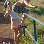 Rail Surfing Poster
