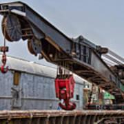 Railroad Crane Poster