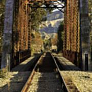 Railroad Trestle Poster