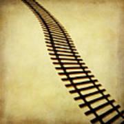 Railway Poster by Bernard Jaubert