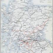 Railways Of Scotland Poster