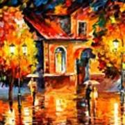 Rain Impression Poster