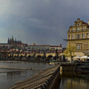 Rain Over Prague Poster