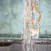 Rain Ruined Wall Poster