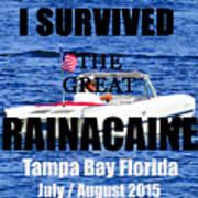 Rainacaine Tampa Bay 2015 Poster