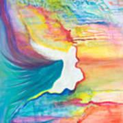 Rainbow Angel Poster