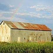 Rainbow Barn Poster