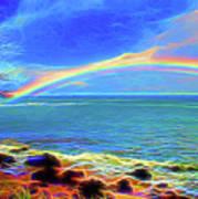 Rainbow Beach Poster