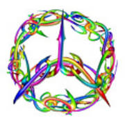 Rainbow Circle Poster