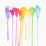 Rainbow Color Poster