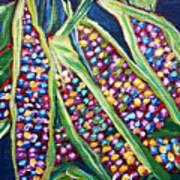 Rainbow Corn Poster
