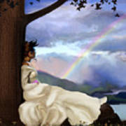 Rainbow Dreamer Poster by Robert Foster