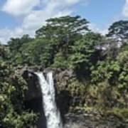 Rainbow Falls Hawaii Poster