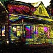 Rainbow House Poster