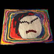 Rainbow Moon Poster