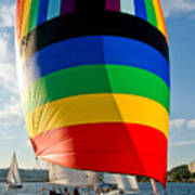 Rainbow Sail Poster