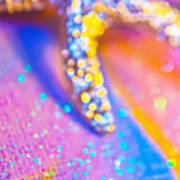 Rainbow Spell And Starfish Poster