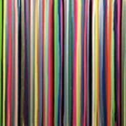 Rainbow Stripe Poster