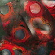 Raindrops Roses Poster