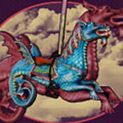 Rainey The Dragon-horse Poster