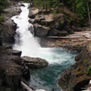 Rainier Waterfall Poster