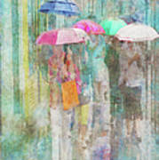 Rainy In Paris 2 Poster
