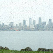 Rainy Skyline D040 Poster