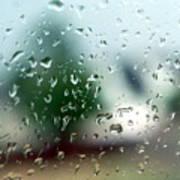 Rainy Window 1 Poster