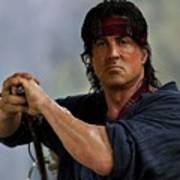 Rambo Sylvester Stallone Poster